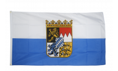 Germany Bavaria Dienstflagge Flag - 3 x 5 ft. / 90 x 150 cm