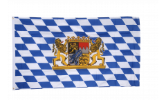 Germany Bavaria with lion Flag