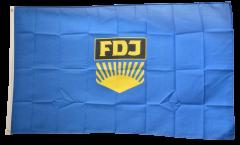 Germany GDR FDJ Free German Youth Flag - 3 x 5 ft. / 90 x 150 cm