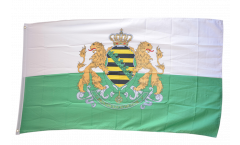 Germany Kingdom of Saxony 1854-1873 Flag - 2 x 3 ft.