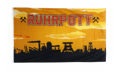 Germany Ruhrpott Ruhr 3 Flag - 3 x 5 ft. / 90 x 150 cm