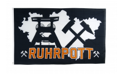 Germany Ruhrpott Ruhr 4 Flag - 3 x 5 ft. / 90 x 150 cm