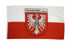 Germany Frankfurt Flag - 3 x 5 ft. / 90 x 150 cm
