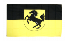 Germany Stuttgart Flag - 3 x 5 ft. / 90 x 150 cm