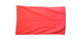 Unicolor red Flag