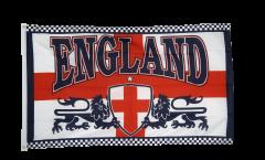 England 2 lions Flag - 3 x 5 ft. / 90 x 150 cm