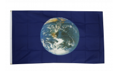 Earth Flag - 3 x 5 ft. / 90 x 150 cm