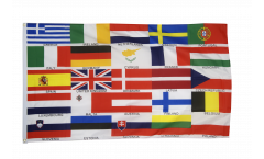 European Union EU 25 states Flag - 3 x 5 ft. / 90 x 150 cm