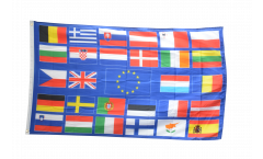 European Union EU with 28 states Flag - 3 x 5 ft. / 90 x 150 cm
