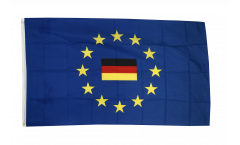 European Union EU with Germany Flag - 3 x 5 ft. / 90 x 150 cm