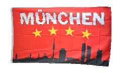 Fan Bayern 4 Stars Munich Flag