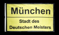 Fan München Stadt des Deutschen Meisters Flag