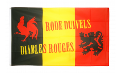 Fan Belgium Rode Duivels Flag - 3 x 5 ft. / 90 x 150 cm