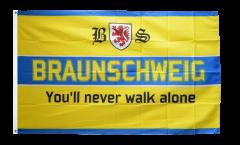 Fan Braunschweig - You'll never walk alone Flag