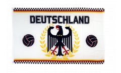 Fan Germany Soccer Flag - 3 x 5 ft. / 90 x 150 cm