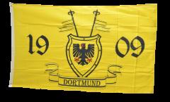 Fan Dortmund 1909 with crest Flag