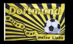 Fan Dortmund - Meine Heimat Flag