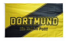Fan Dortmund - Die Nr.1 im Pott Flag
