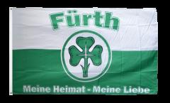 Fan Fürth - Meine Heimat meine Liebe Flag