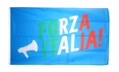 Fan Italy Forza Italia Flag - 3 x 5 ft. / 90 x 150 cm