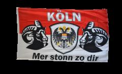 Fan Cologne Mer stonn zu dir Flag