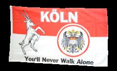 Fan Cologne Mer You'll never walk alone Flag