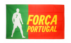 Fan Portugal Forca Flag - 3 x 5 ft. / 90 x 150 cm