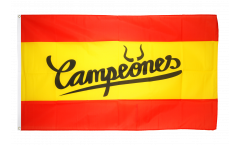 Fan Spain Campeones Flag - 3 x 5 ft. / 90 x 150 cm