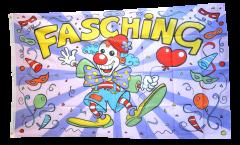 Fasching Karneval Carnival Flag - 3 x 5 ft. / 90 x 150 cm