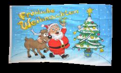 Fröhliche Weihnachten Flag - 3 x 5 ft. / 90 x 150 cm