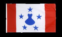 France French Polynesia Austral Islands Flag