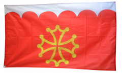 France Gard Flag - 3 x 5 ft. / 90 x 150 cm