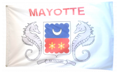 France Mayotte Flag - 3 x 5 ft. / 90 x 150 cm