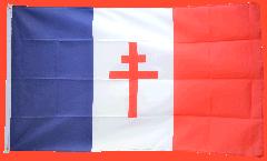 France libre 1940-43 - Croix de Lorraine Flag