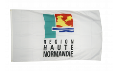 France Upper Normandy region Flag - 3 x 5 ft. / 90 x 150 cm