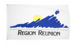 France Region Reunion Flag - 3 x 5 ft. / 90 x 150 cm