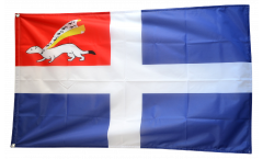 France Saint-Malo Flag - 3 x 5 ft. / 90 x 150 cm