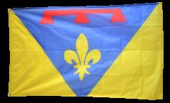 France Var Flag - 3 x 5 ft. / 90 x 150 cm