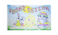 Happy Easter 6 Flag - 3 x 5 ft. / 90 x 150 cm
