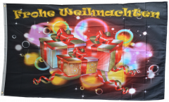Frohe Weihnachten gift giving Flag - 3 x 5 ft. / 90 x 150 cm