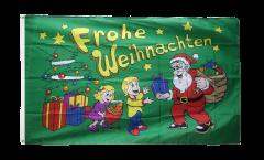 Frohe Weihnachten gifts Flag - 3 x 5 ft. / 90 x 150 cm