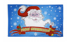 Merry Christmas Santa Claus Flag - 3 x 5 ft. / 90 x 150 cm