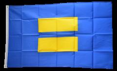 Fahne England Flagge Staffordshire Hissflagge 90 x 150 cm