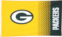 NFL Green Bay Packers Fan Flag - 3 x 5 ft. / 90 x 150 cm