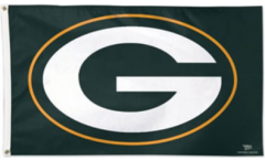 NFL Green Bay Packers Logo Flag - 3 x 5 ft. / 90 x 150 cm