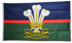 Great Britain British Army Royal Welsh Flag - 3 x 5 ft. / 90 x 150 cm