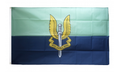 Great Britain British Army Special Air Service blue Flag - 3 x 5 ft. / 90 x 150 cm