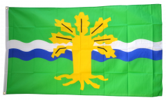 Great Britain Nottinghamshire Flag - 3 x 5 ft. / 90 x 150 cm