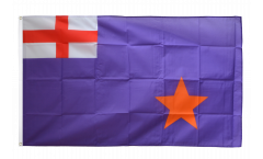 Great Britain Orange Order Purple Standard Flag - 3 x 5 ft. / 90 x 150 cm