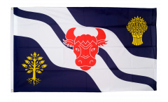 Great Britain Oxfordshire new Flag - 3 x 5 ft. / 90 x 150 cm